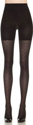 Spanx Patterned Tight-End Dotted Line Tights
