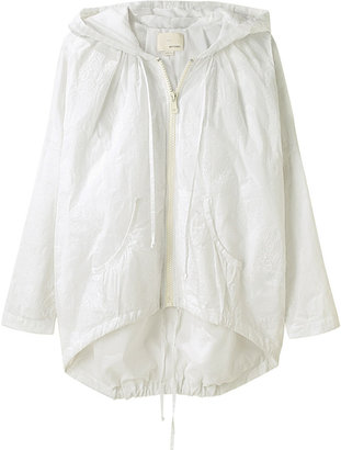 Band Of Outsiders Cecile Embroidered Parka