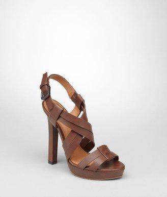 Bottega Veneta Edoardo intrecciato cuir sandal