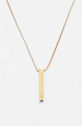 Vince Camuto 'Very Vince' Vertical Bar Pendant Necklace