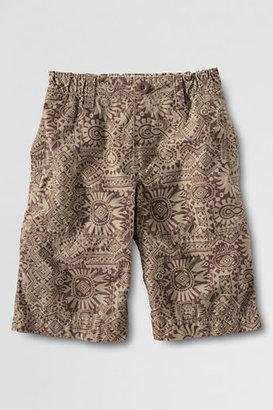 Lands' End Boys' Beach Print Shorts