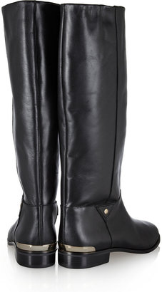 Twelfth St. By Cynthia Vincent Wells leather riding boots