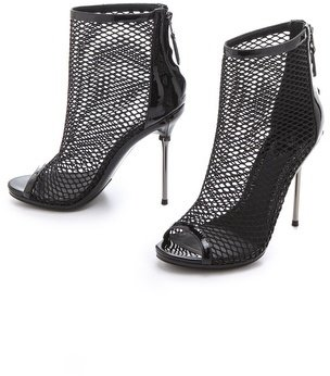 Brian Atwood Michelet Mesh Booties