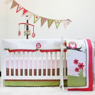 Pam Grace Creations 10-pc. Sweet Dream Owl Crib Bedding Set