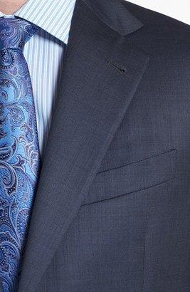 Joseph Abboud 'Signature Silver' Wool Suit