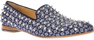 Giacomorelli stud loafer