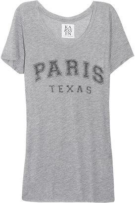 Zoe Karssen Paris Texas jersey T-shirt