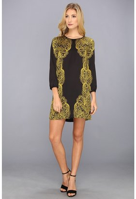 Juicy Couture Bohemian Paisley Dress (Pitch Black) - Apparel