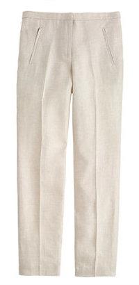 J.Crew Tall slim linen trouser