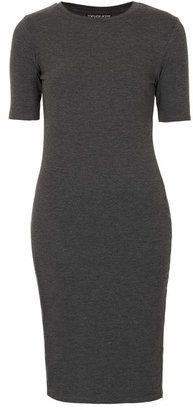 Topshop Petite side zip midi dress