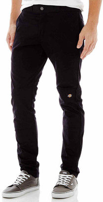 Dickies Skinny Fit Straight Leg Double Knee Workpant