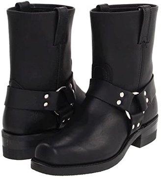 Frye Harness 8R (Black) Cowboy Boots