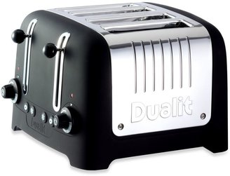 Dualit Lite Chunky 4-Slice Toaster in Black