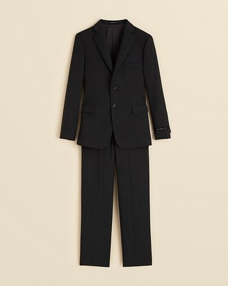 John Varvatos Boys' Solid Cotton Suit - Sizes 8-20