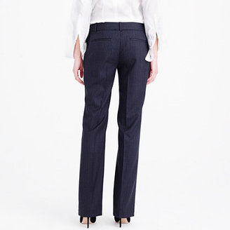 J.Crew Tall 1035 trouser in pinstripe Super 120s wool