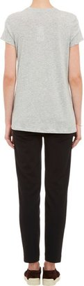 Vince Women's Boy-Fit T-shirt-Grey