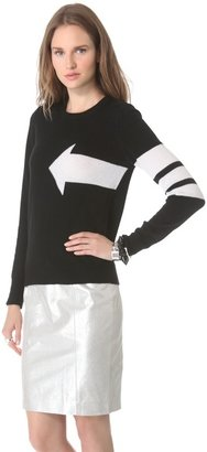 Equipment Shane Cashmere Sweater with Arrow
