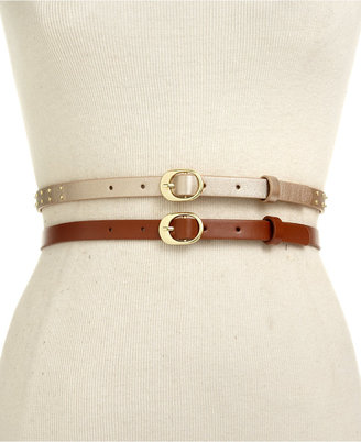Style&Co. Style & Co. 2 for 1 Studded Belt