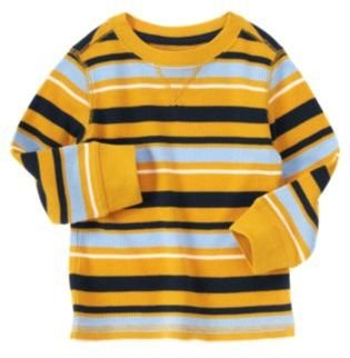 Crazy 8 Stripe Thermal Tee