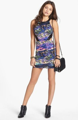 Lush Cutout Body-Con Dress (Juniors)