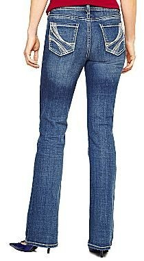 JCPenney a.n.a® Thick-Stitch Bootcut Jeans - Talls