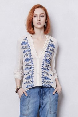 Anthropologie Paisley Trails Tee