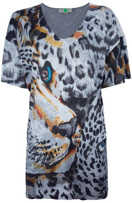 Stella McCartney Leopard printed top