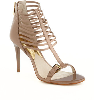 MICHAEL Michael Kors Molly Leather High-Heeled Sandals