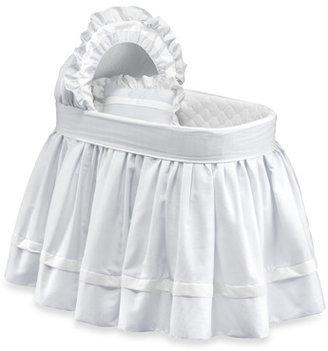 Bed Bath & Beyond White Pique Bassinet Bedding Set by Babydoll