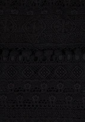Maison Scotch Lace Long Sleeve Top