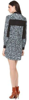 Sea Combo Shirt Dress