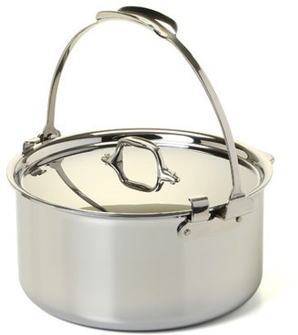 All-Clad Stainless Steel 8 Qt. Pouring Stock Pot with Lid