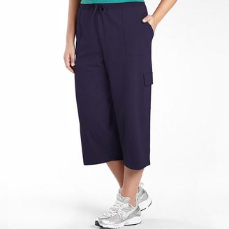 JCPenney Made For Life SJB Active French Terry Capri- Plus