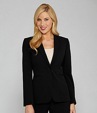 Tahari by Arthur S. Levine Tahari by ASL Separates Single-Button Jacket