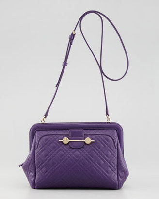 Jason Wu Daphne Quilted Crossbody Bag, Violet