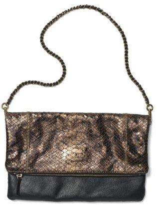 Club Monaco Katie Fold-Over Shoulder Bag