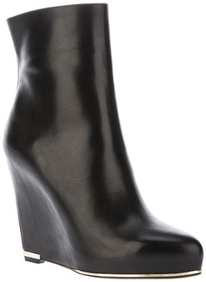 Givenchy wedge heel ankle boot