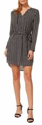 Dex Striped Shirt Dress