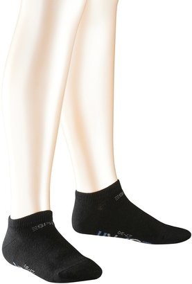 Esprit Foot Logo 2-Pack Trainer Socks - 80% Cotton