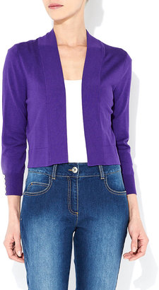 Wallis Purple Shrug