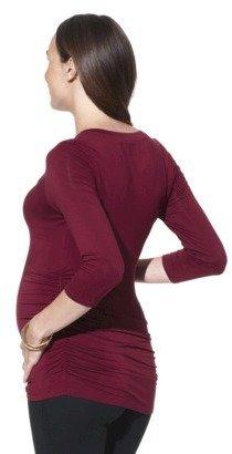 Liz Lange for Target® Maternity 3/4-Sleeve V-Neck Top - Assorted Colors