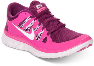 Nike Women's Free 5.0+ Running Sneakers from Finish Line