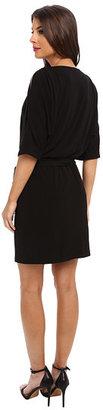 Jessica Simpson Dolman Wrap Dress w/ a Self Tie