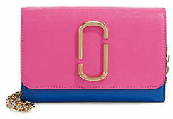 Marc Jacobs Snapshot Leather Chain Wallet