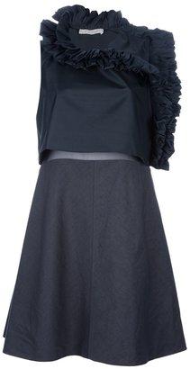Chloé ruffle neck dress