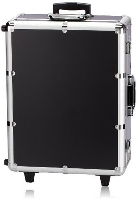 NYX Makeup Artist Train Case with Lights, Extra Large Black/Silver, 1 Ounce $500 thestylecure.com
