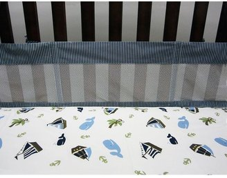 NoJo ahoy mate mesh crib liner