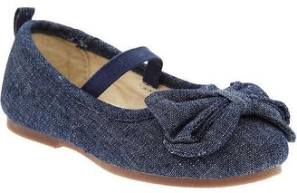Old Navy Canvas Bow-Tie Ballet Flats for Baby