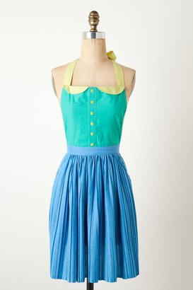 Anthropologie Pleated Bobbi Apron