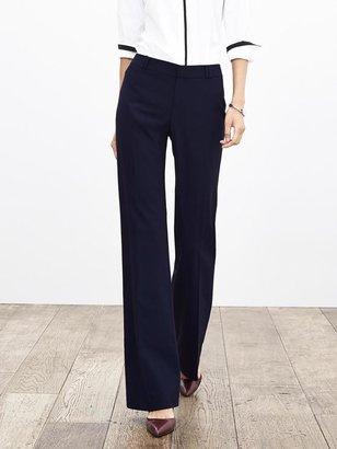 Banana Republic Jackson-Fit Navy Lightweight Wool Trouser
